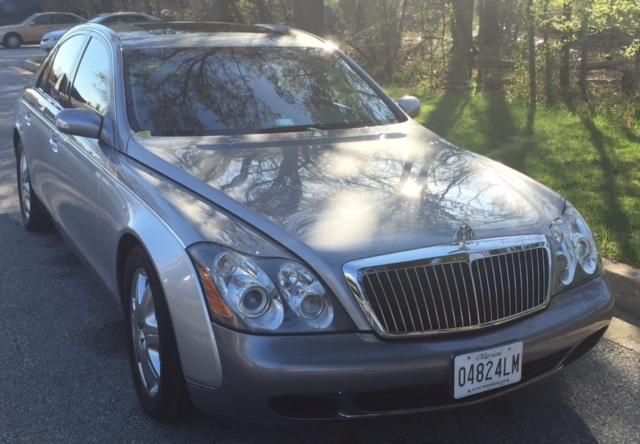 Maybach 57 limousine