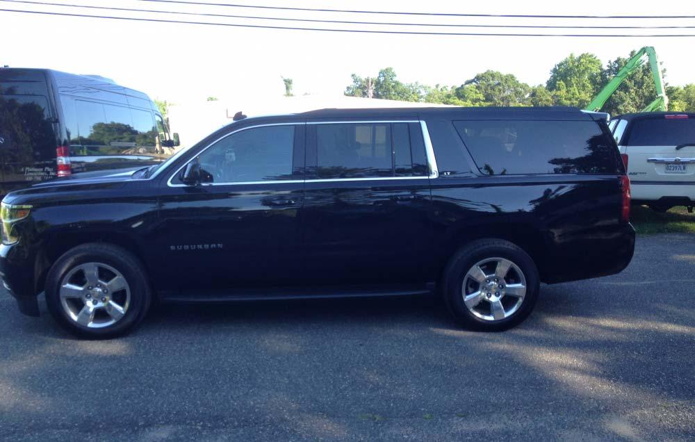 chevy suburban suv limousine