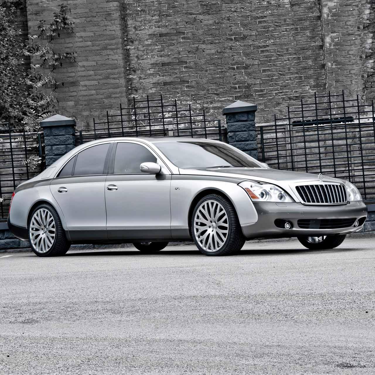 White Chrysler 300 >> Maybach 57 Luxury Sedan - Platinum Plus Limousines