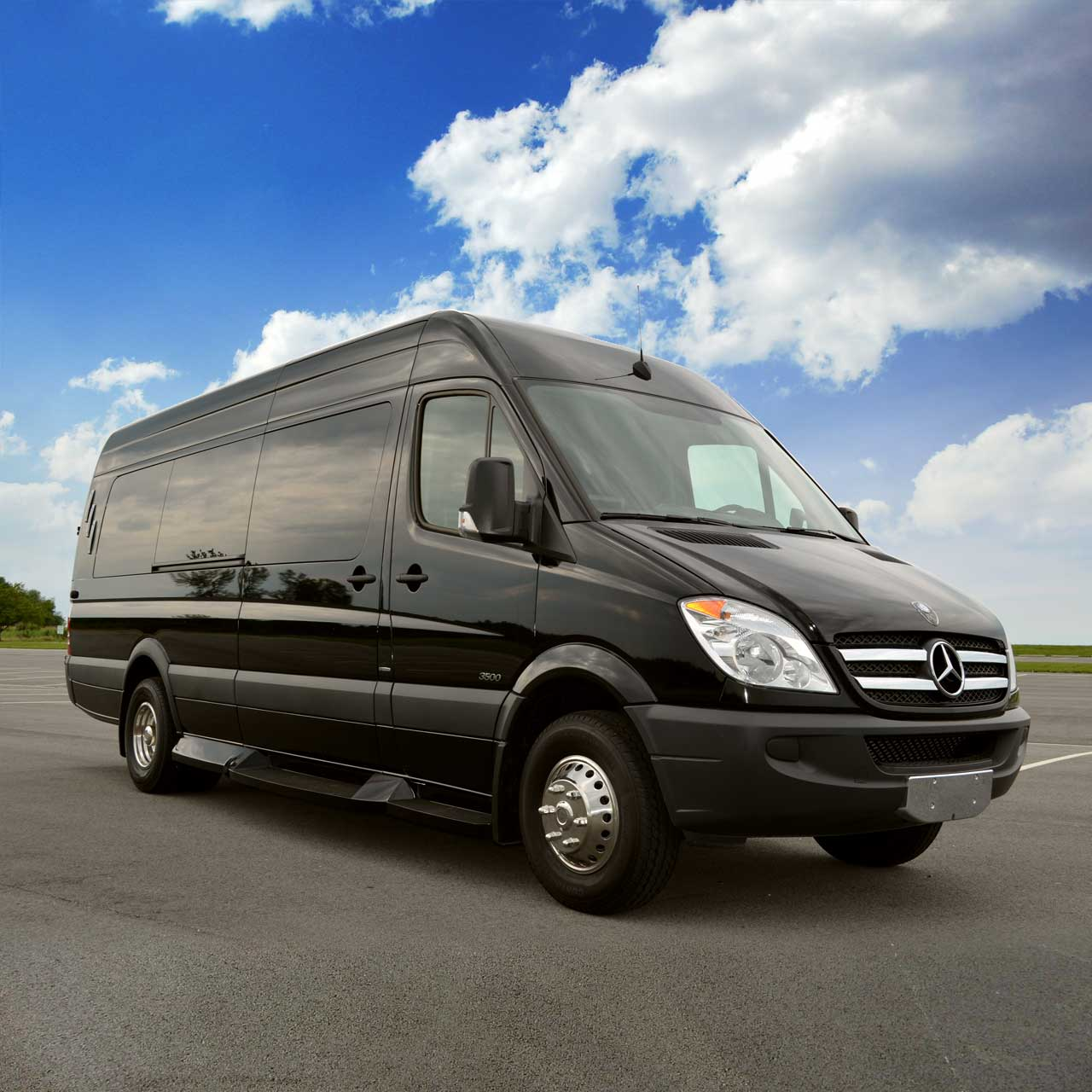 Mercedes Sprinter Luxury Limo Coach - Platinum Plus Limousines